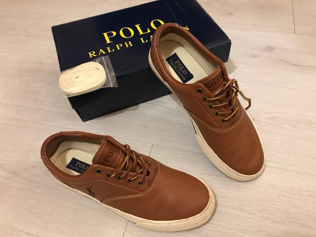 Polo Ralph Lauren leather trainers and Fred berry trainers