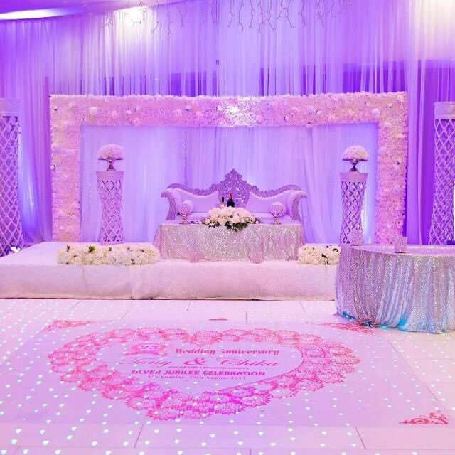 Wedding Reception Decorations Chair Hire Stage Table Decor