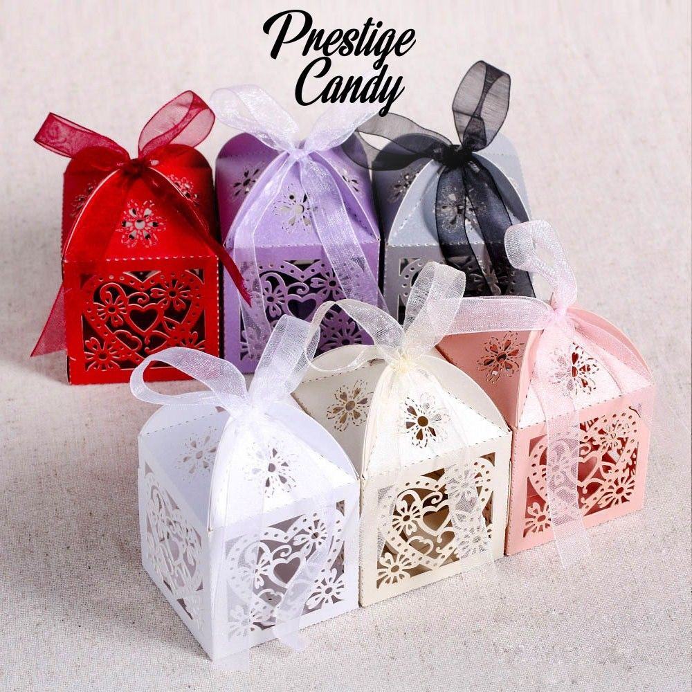 Prestige Candy Wedding Sweet Boxes Cones Events Parties