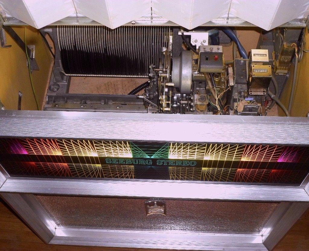 For sale: 2 RARE SEEBURG JUKEBOXES, model: SE100 E (1970) working