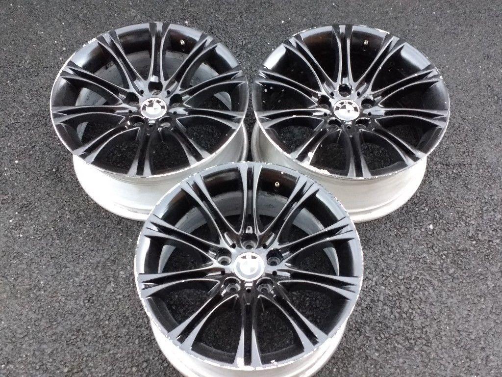 18 Bmw E60 5 Series M Sport Mv2 Alloys Alloy Wheels Genuine