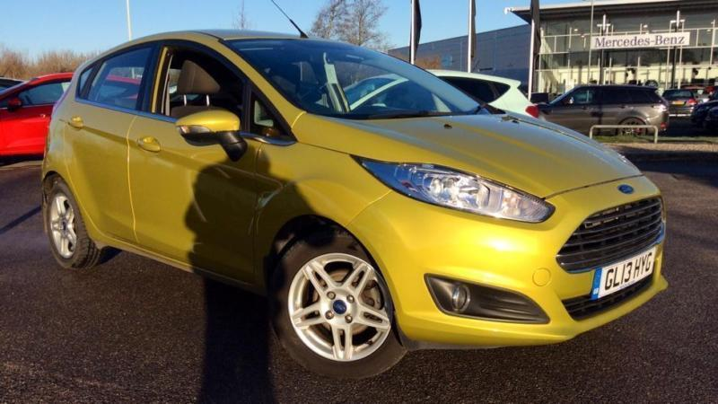 2013 Ford Fiesta 1.0 Zetec 5dr Manual Petrol Hatchback