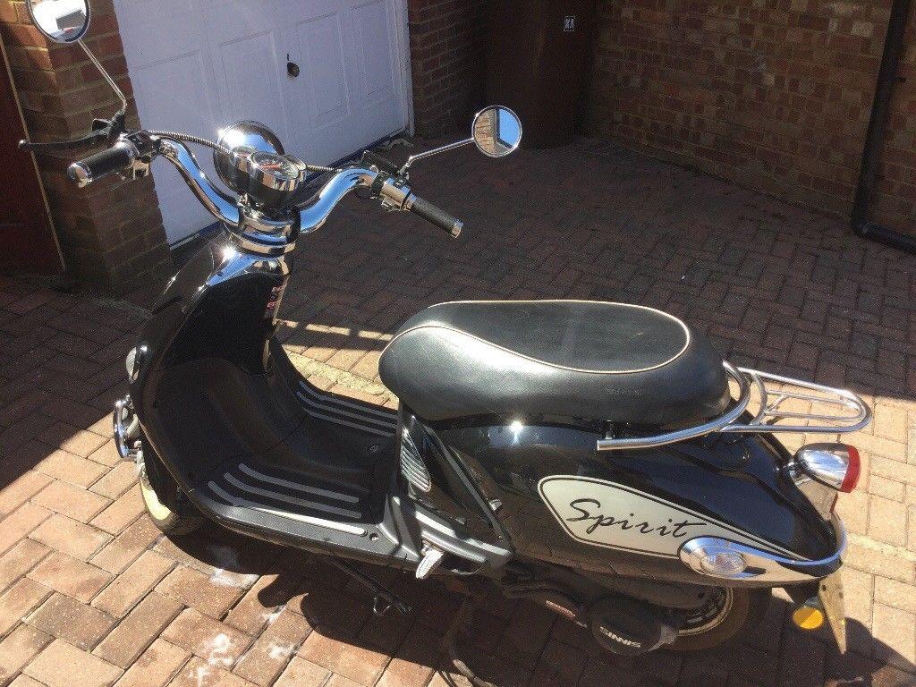125 cc retro scooter | Sumra