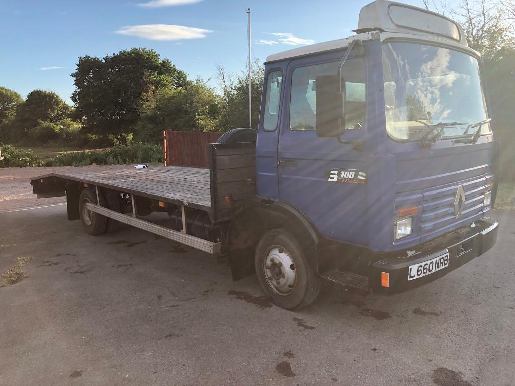 RENAULT RECOVERY TRUCK 7 5 TONS  1994 L REG 6 cylinder turbo