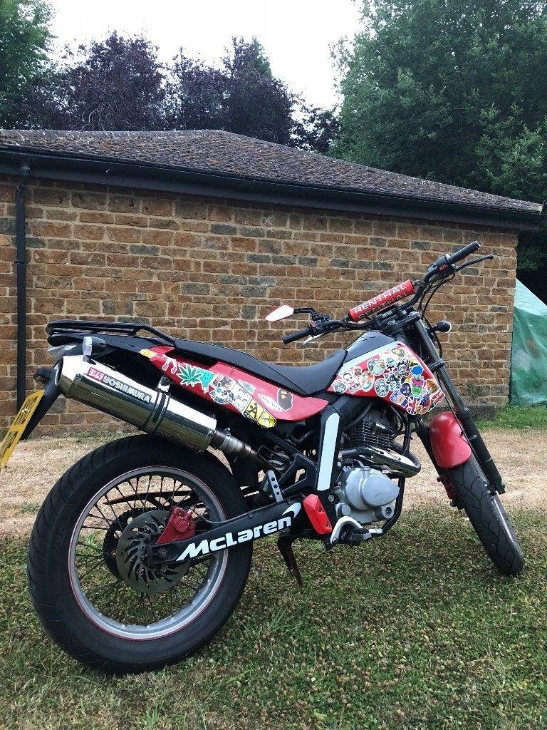Derbi Senda Cross City 125 Motorbike Moped Scooter | Sumra