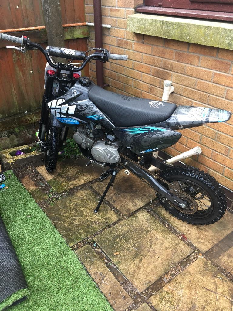 WELSH PITBIKE 125cc  SWAPS FOR A MOPED OR £350 | Sumra