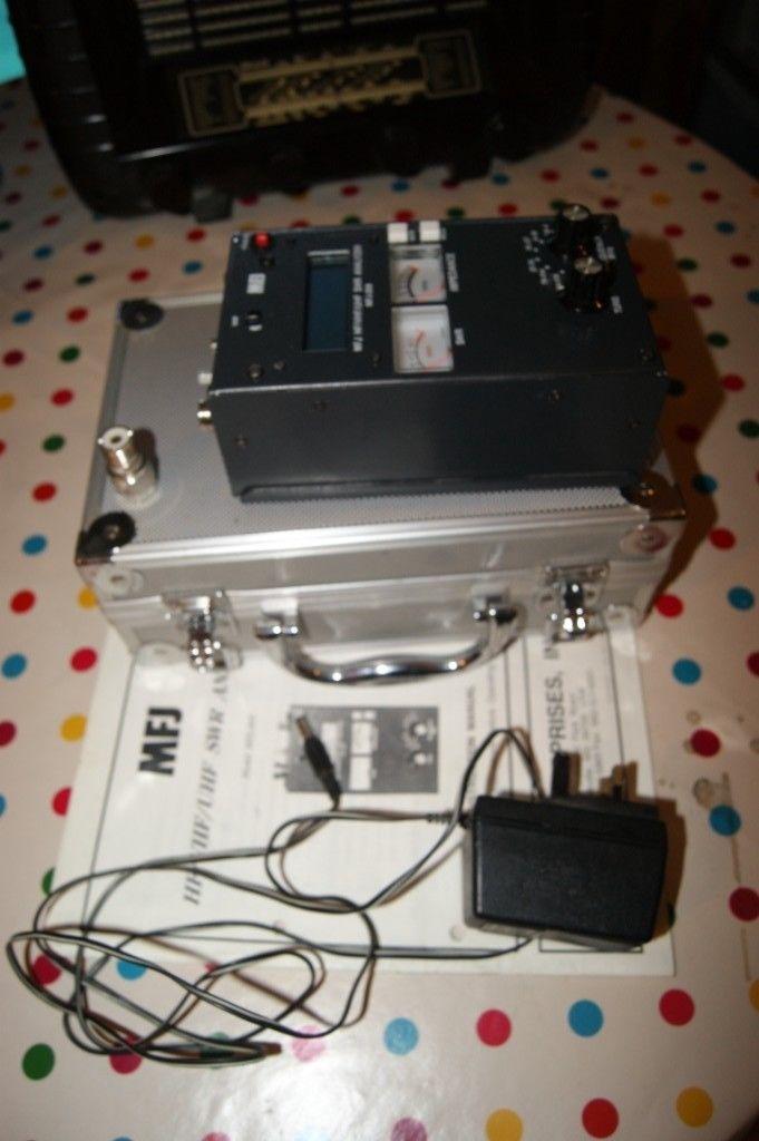 MFJ-269 SWR Analyzer HF/VHF/UHF Antenna Analyser Ham Radio