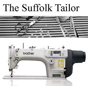 The Suffolk Tailor for all your alterations and sewing needs.