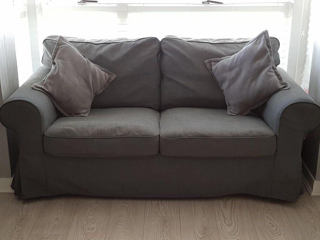 Ikea Ektorp 3 Seater Sofa And 2 Seater Sofa In Nodvalla Dark