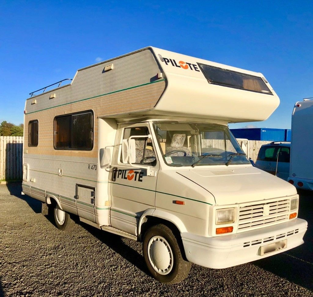 e61b9c614a7c54 5 Berth Motorhome with 2.5TD and Power steering Long MOT