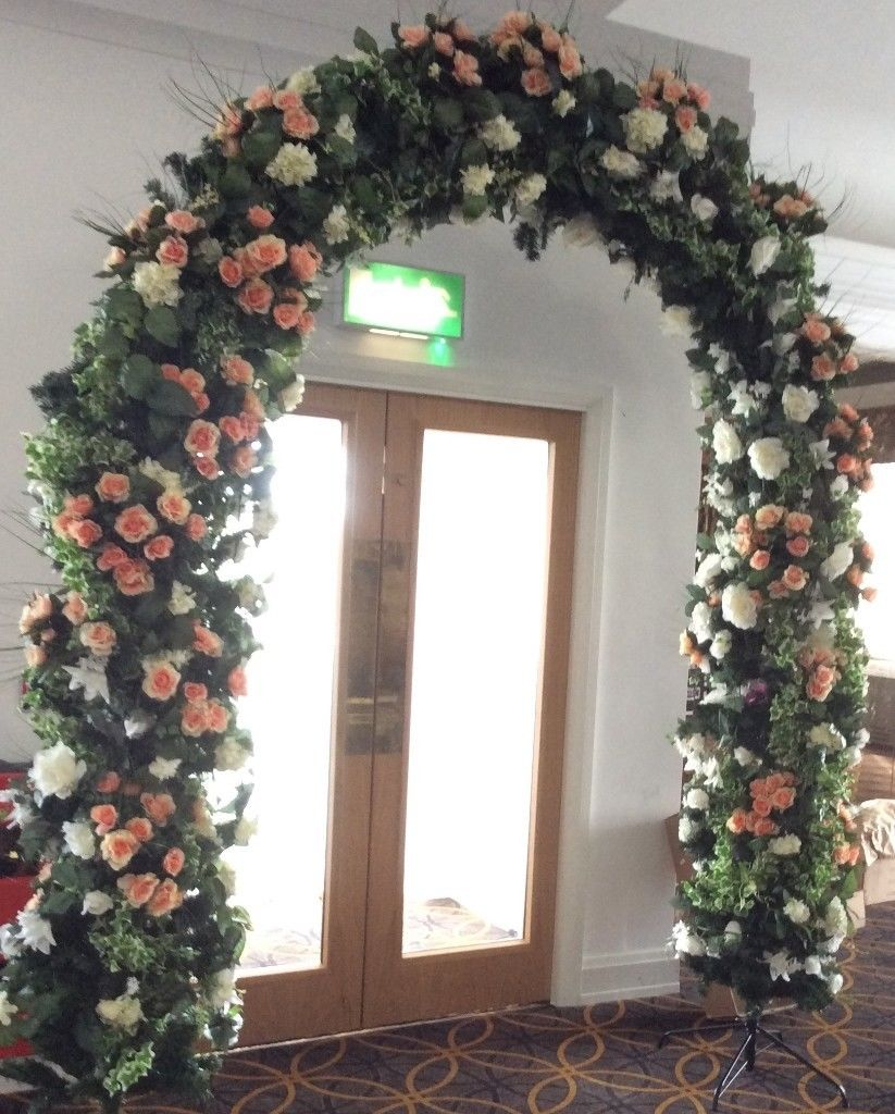 Artificial flower walls/back drops/artificial arches/wall of candles-image-2