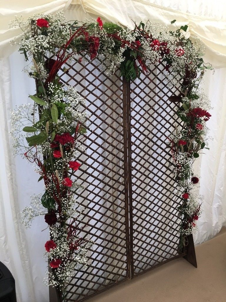 Artificial flower walls/back drops/artificial arches/wall of candles-image-3