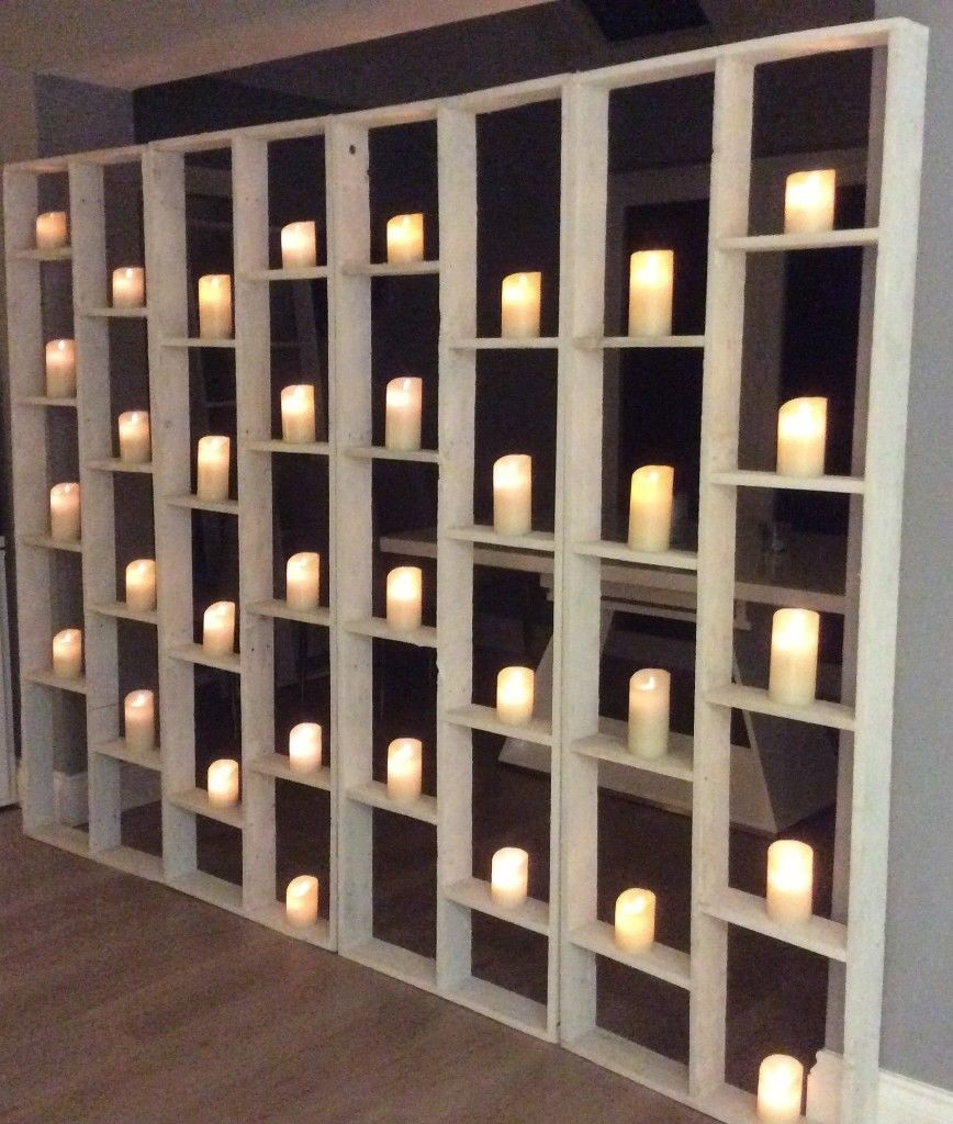 Artificial flower walls/back drops/artificial arches/wall of candles-image-4