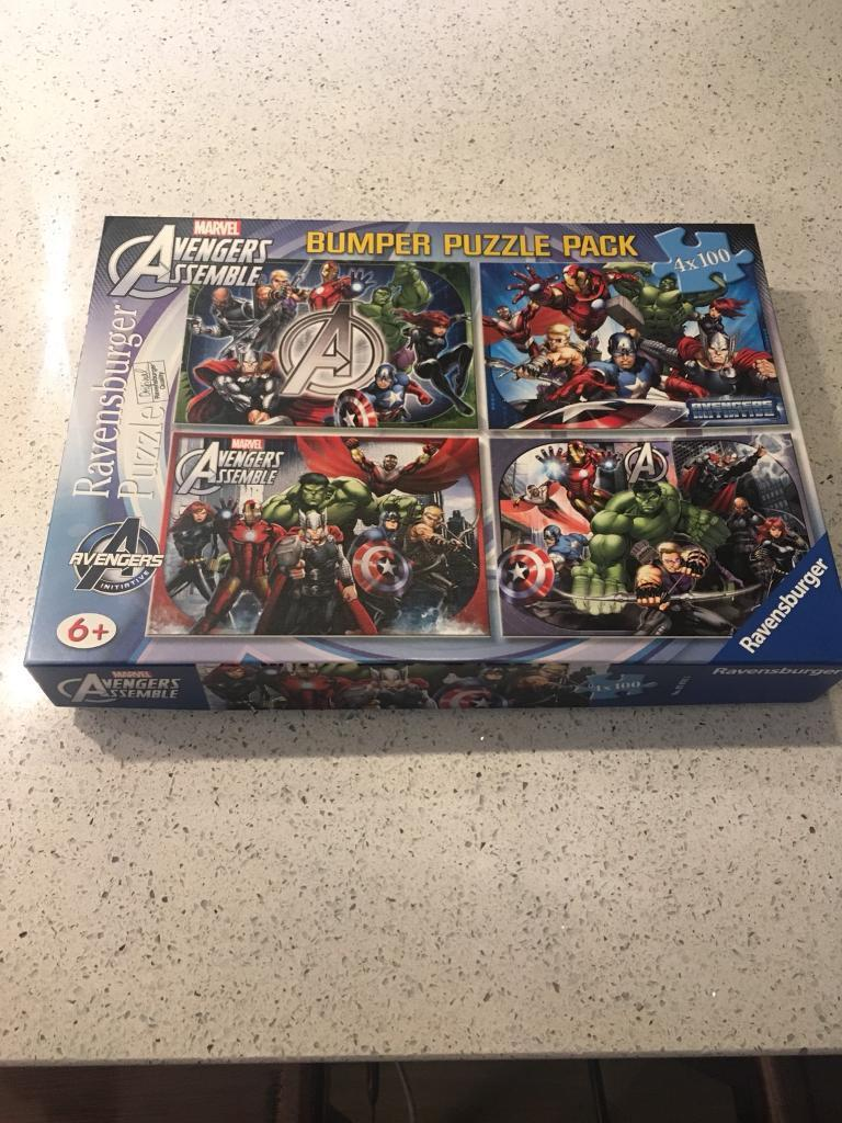 Avengers jigsaw puzzles
