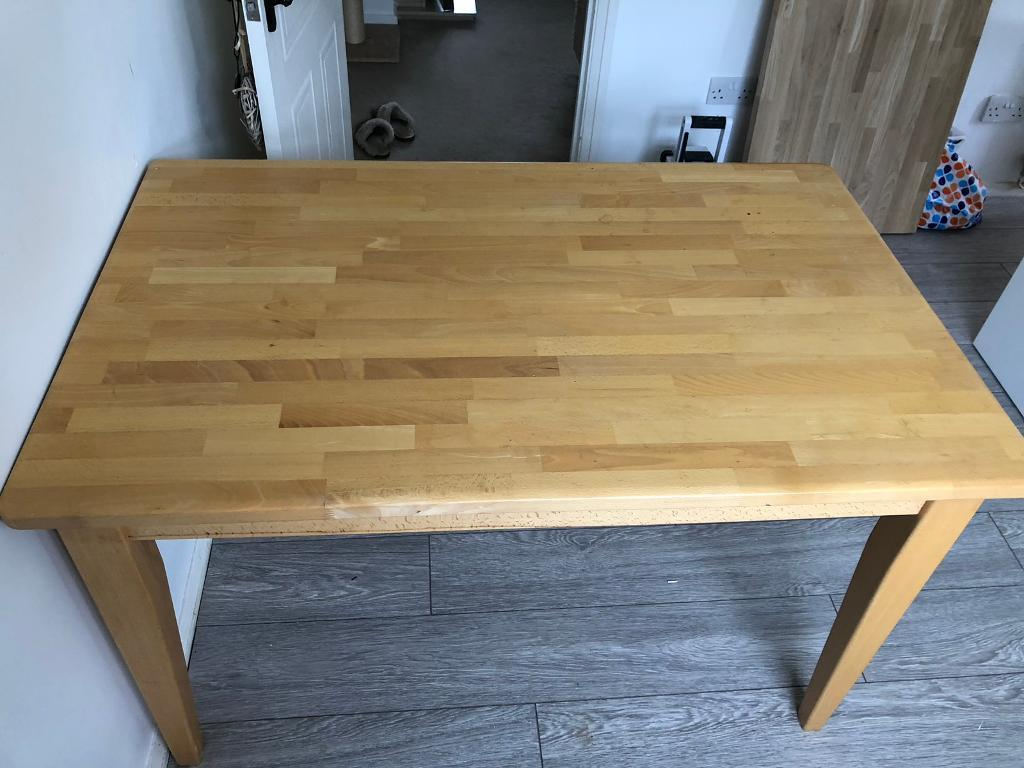 Solid Wood Dinning Table-image-1