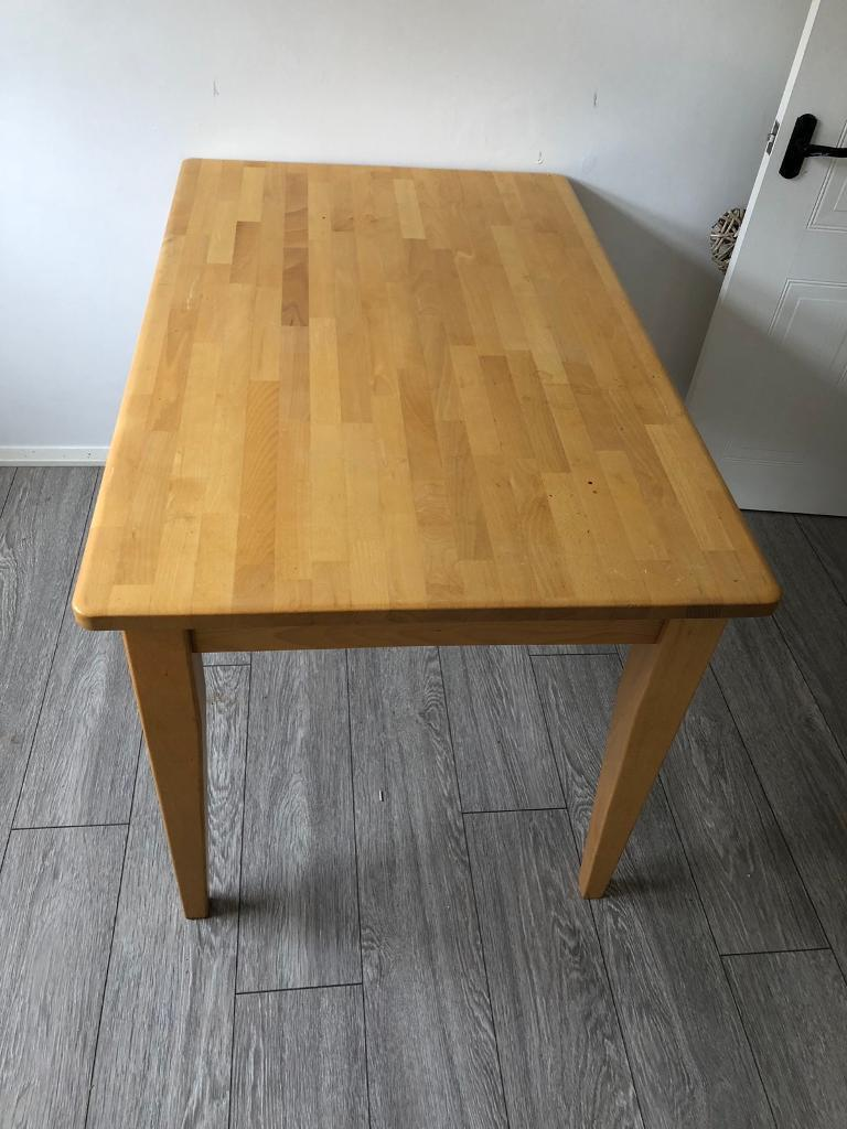 Solid Wood Dinning Table-image-2