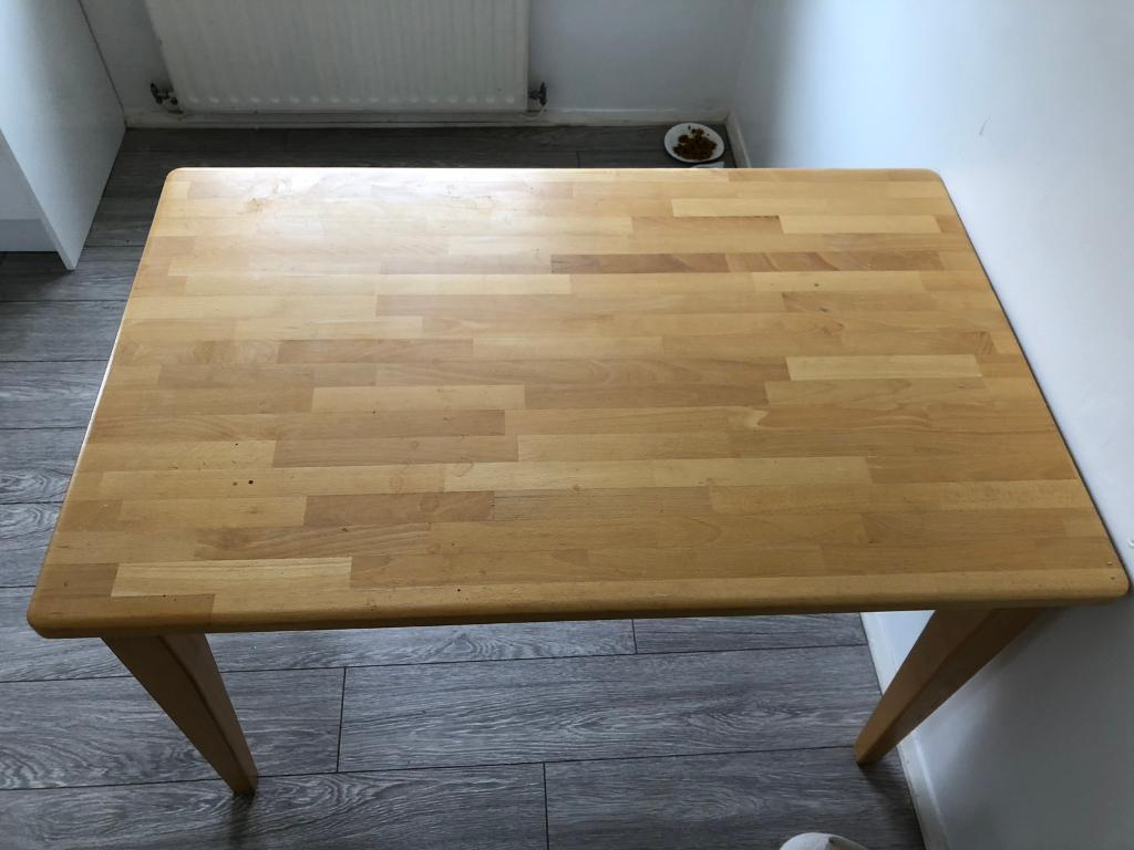 Solid Wood Dinning Table-image-4