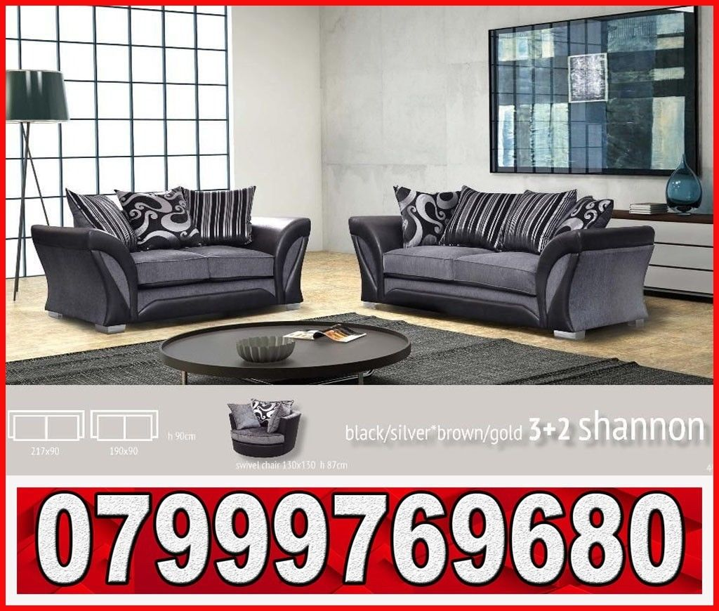 hot offer 3 + 2 shannon sofa