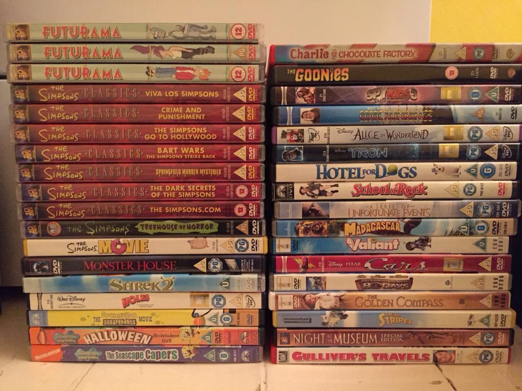 DVD's for sale - 35 Children's