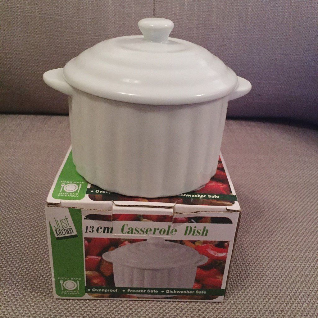 Casserole Dish 13cm - NEW and in Box-image-2