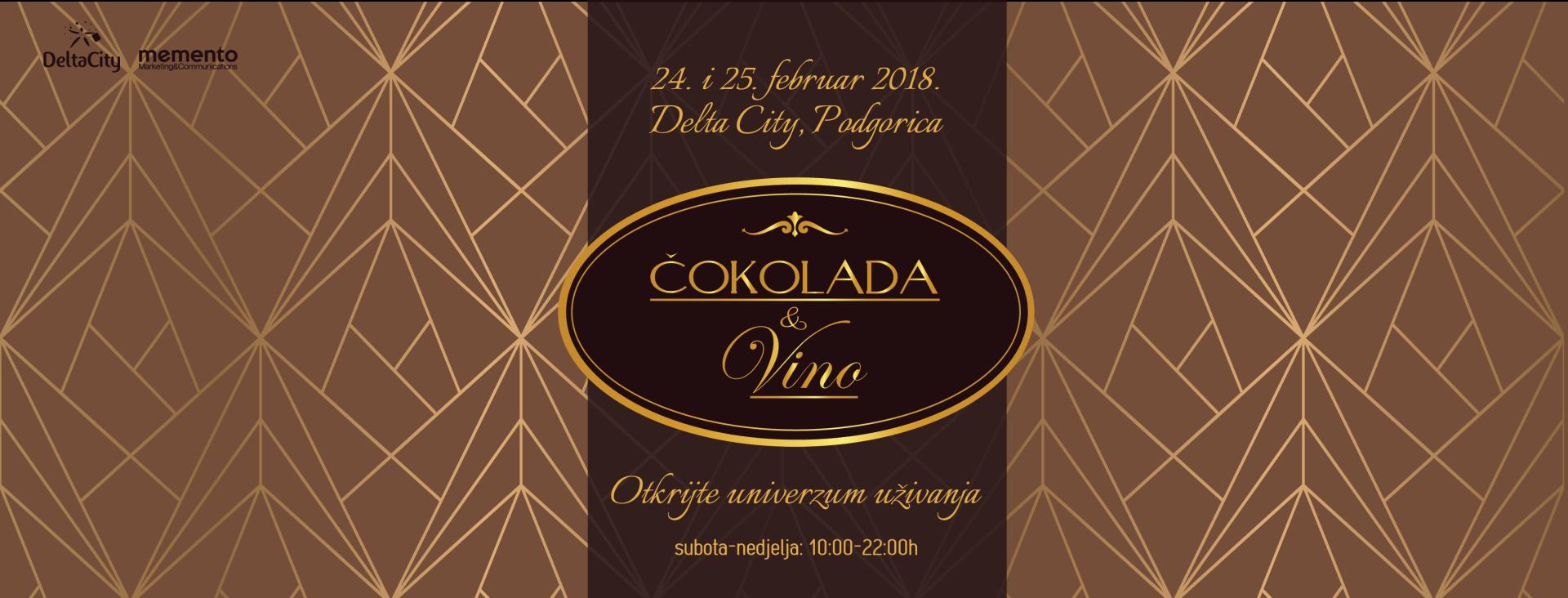 "Za vikend peto izdanje manifestacije ""Čokolada i Vino"""