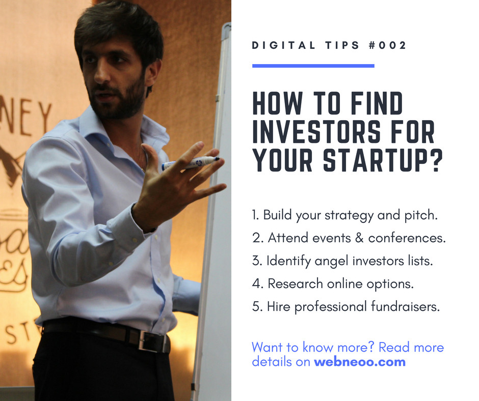 How to find investors for your startup?