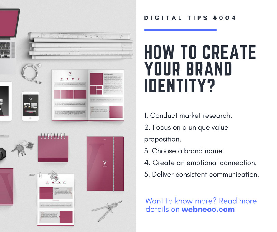 How to create your brand identity?