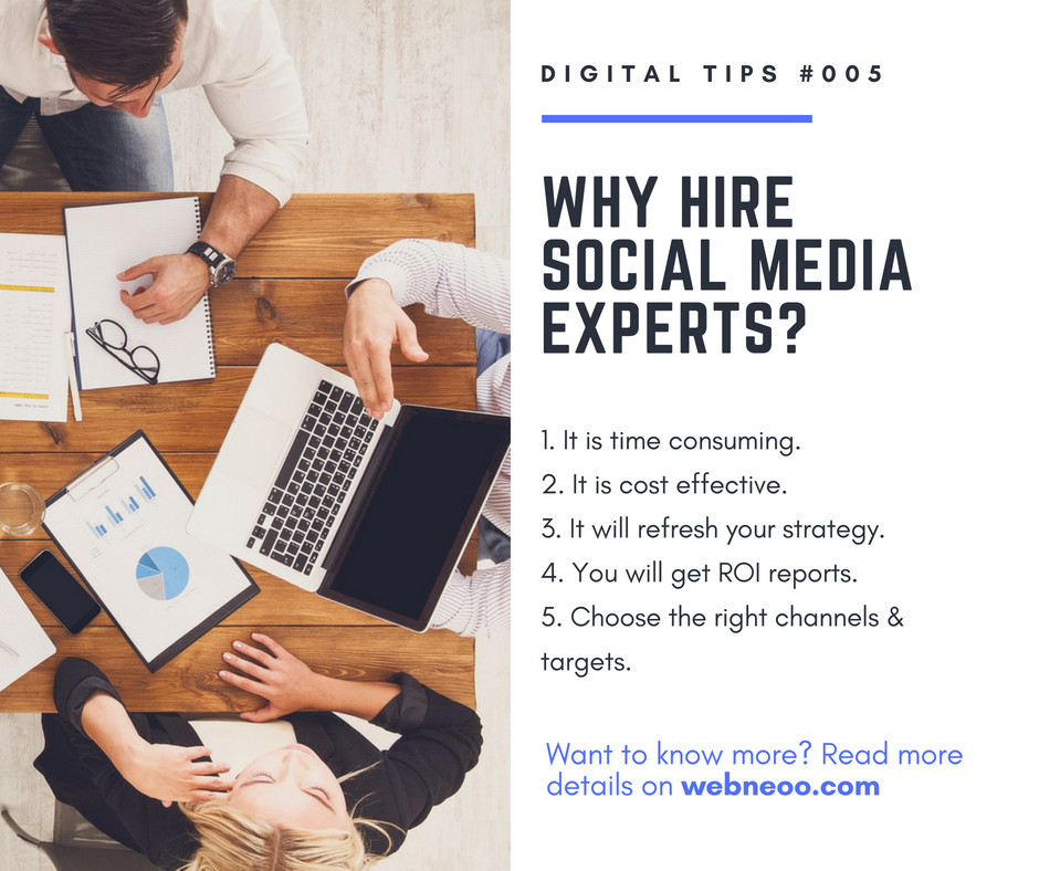 Why Hire Social Media Experts