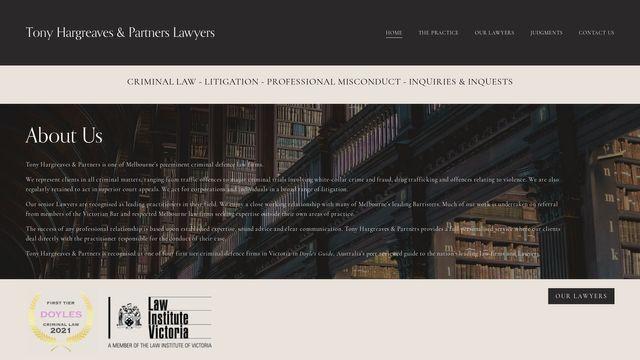 Tony Hargreaves & Partners Lawyers