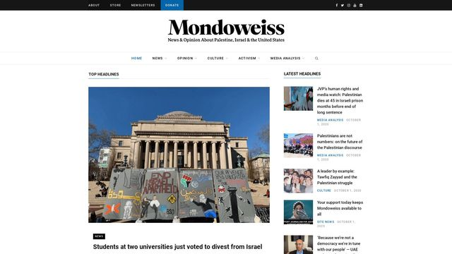 Mondoweiss