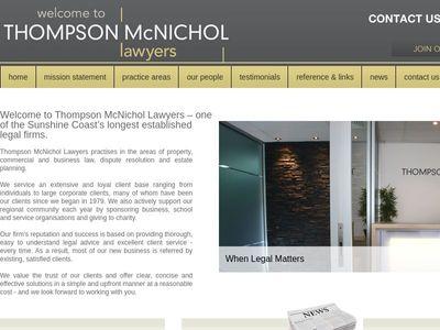 Thompson Mcnichol Lawyers