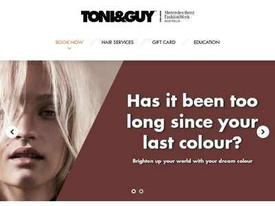 TONI&GUY Hairdressing | Australia