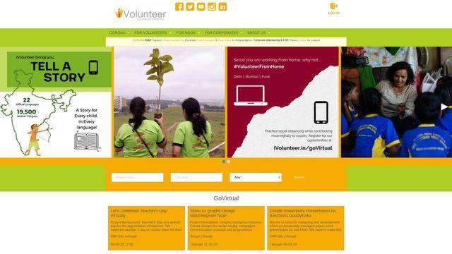 www.iVolunteer.in