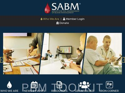 Society for the Advancement of Blood Management, Inc. (SABM)