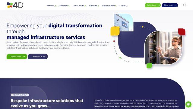 4D Data Centres