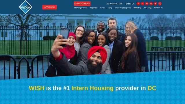 Washington Intern Student Housing (WISH)