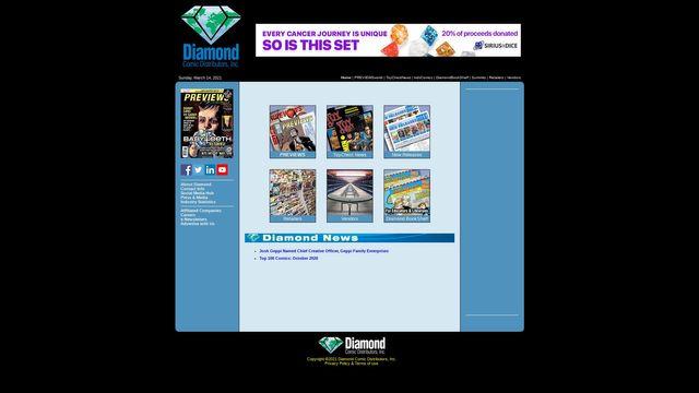 Diamond Comic Distributors