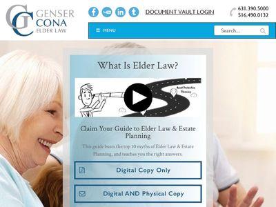 Genser Cona Elder Law