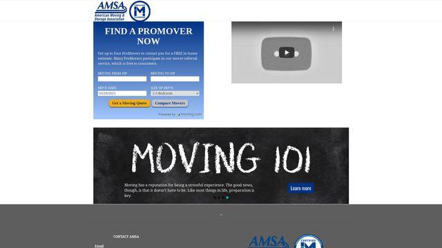 American Moving & Storage Association (AMSA)