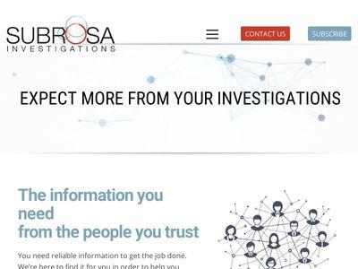 Subrosa Investigations