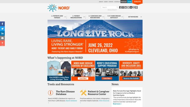 NORD (National Organization for Rare Disorders)
