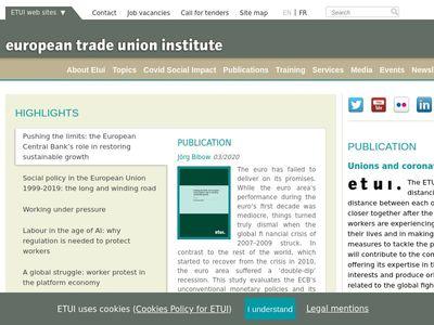 European Trade Union Institute (ETUI)
