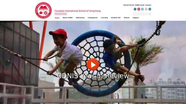 Canadian International School Of Hong Kong