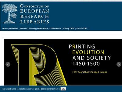 Consortium Of European Research Libraries