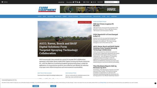 Farm Equipment Magazine