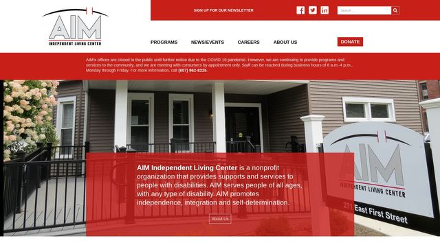 Aim Independent Living Center