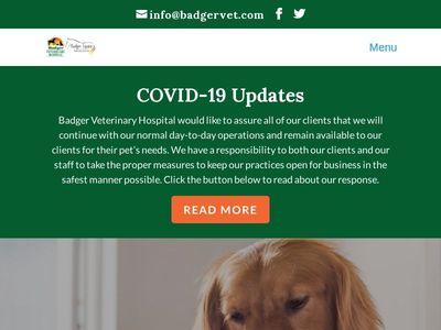 Badger Veterinary Hospital