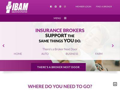 IBAM - Insurance Brokers Association of Manitoba