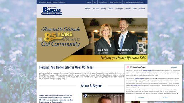 Baue Funeral Homes