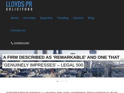 Lloyds Pr Solicitors